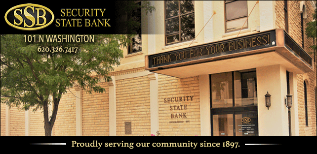 Security State Bank Holiday. Proudly Serving our community since 1897.