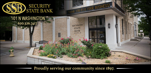 Proudly Serving Our Community Since 1897. Three differnt picture of the bank building.